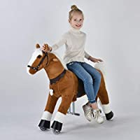UFREE Horse Best Birthday Present for Girls. Action Pony Toy. Rocking horse. Large 36