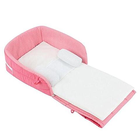 Des lits crèche multifonction Lit Voyage portable pour les enfants lit pliant Multicolor , blue