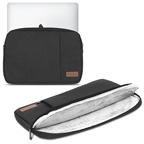 Laptop Schutz Tasche Schwarz Notebook Schutzhülle Ultrabook Macbook Tablet Cover Case, Notebook:TrekStor SurfTab twin 11.6;Farbe:Schwarz