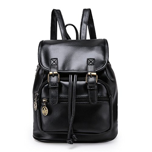 Koreanisch / Retro / Hochschule Wind / Pu / Casual / Fashion Bag Black