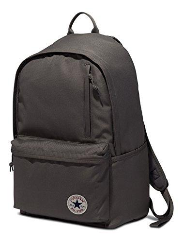Converse Backpack Mochila unisex Poly Original Charcoal Gris
