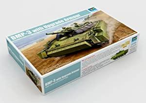 Trumpeter 00365 BMP-3 - Tanque Ruso a Escala con blindaje Adicional