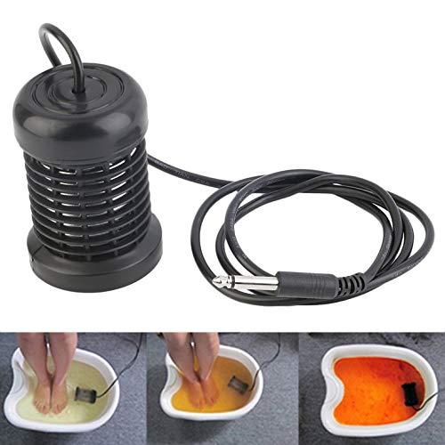Ion Array Elektrode Spule mit 6,3 mm Klinkenstecker für Detox Ion Cleanser, Royal Spa und andere Geräte, schwarz -