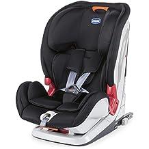 Chicco YOUniverse Fix - Silla de coche isofix para niños entre 0 y 3 años (9-36 kg), grupo 1-2-3, color rojo, negro o gris