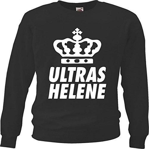 Helene - Maglia sportiva - Maniche lunghe  -  uomo Nero