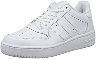 adidas Women's M Attitude Revive Low-Top Sneakers, White (Ftwr White/Ftwr White/Ftwr White), 8 UK