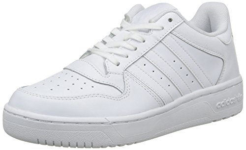 adidas Women's M Attitude Revive Lo Low-Top Sneakers, White (FTWR White/FTWR White/FTWR White), 5 UK 38 EU