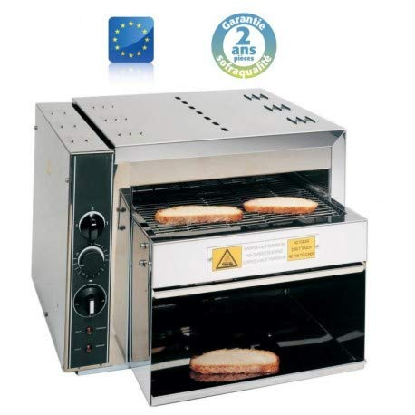 Toaster Convoyeur - Rapid 2-4,0 kW - Sofraca -