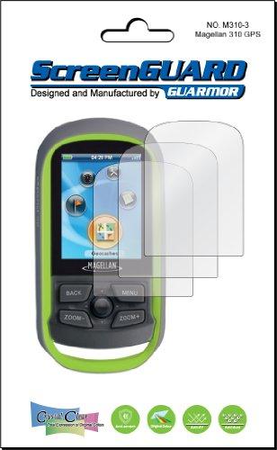 3Magellan eXplorist eXplorist GC 310110GPS PREMIUM CLEAR LCD Displayschutzfolie Cover Guard Shield Kit Film, exakte Passform, kein Schneiden Personalisierter. (3Stücke von GUARMOR) Explorist Carry Case