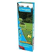 Kingfisher Porta e Pallone Da Calcio Per Esterno e Giardino Da Bambini - Incluse: un pallone e una rete - Si assembla facilmente - Magnifica per il giardino - Adatta per tutte le età
