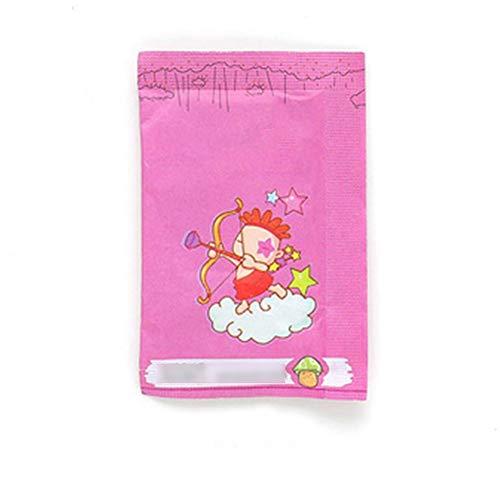 Ouken Pacchetto di 100 bustine profumate deumidificazione borse casa profumo deodorante sacchetti per cassetti armadi e automobili, rosa bust