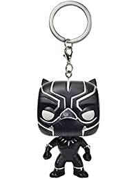 Funko Pop! Keychain : Captain America Civil War - Black Panther Figure