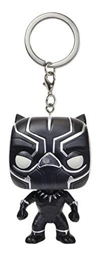 Funko - Porte Clé Captain America - Civil War - Black Panther Pocket Pop 4cm - 0849803095147