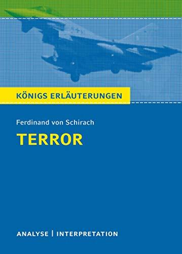 Terror  Königs Erläuterungen : Textanalyse und