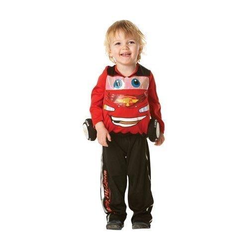 Flash Mcqueen-Kostüm für Kinder - 3-4 Jahre
