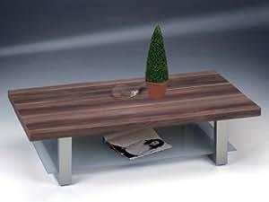 Design couchtisch tisch wohnzimmertisch shot nussbaum for Wohnzimmertisch amazon