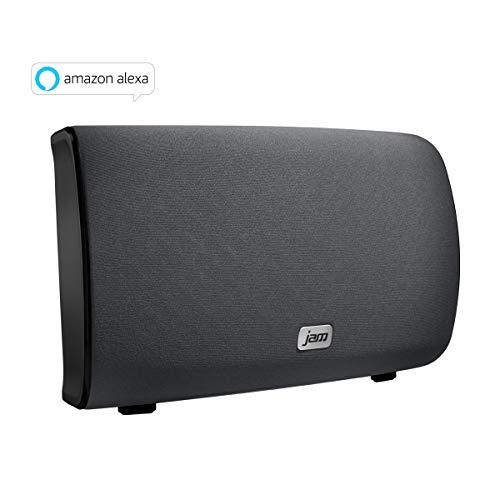 JAM Audio Symphony kabellose WiFi Lautsprecher (mit Alexa Voice-Einzelnd/Multiroom, 2.1 Stereo Sound, Höhen- und Bass Anpassungen, Streamen der persönlichen Playlists von Spotify etc. mit der JAM App) -