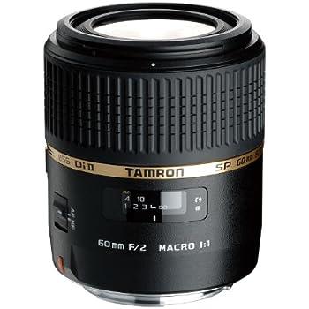 Tamron SP AF 60mm F/2.0 Di II Macro 1:1 Objektiv für Nikon (mit eingebautem Motor)