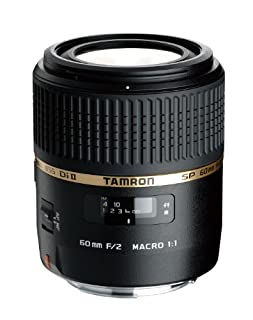 Tamron G005NII SP AF 60 mm F/2 Di II LD (IF) Macro 1:1 - Objetivo para Nikon (Distancia Focal Fija 60mm, Apertura f/2-2, Macro, diámetro: 55mm) Negro (B002AB0NZY) | Amazon price tracker / tracking, Amazon price history charts, Amazon price watches, Amazon price drop alerts