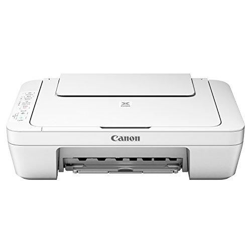 Canon MG3051 WH Stampante Multifunzione a Getto, 4800 x 600 dpi, Bianco