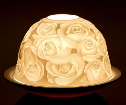KERZENFARM 30005Porzellan tealight-holder, weiß