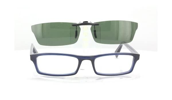 1f13543b91 WARBY PARKER SIBLEY-52X18 POLARIZED CLIP-ON SUNGLASSES (Frame NOT  Included)  Amazon.co.uk  Health   Personal Care
