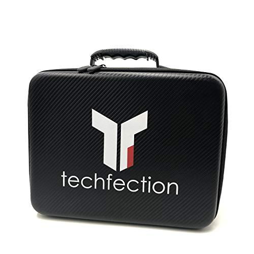 Techfection Kofferfür DJI Mavic 2 Pro/Zoom/Enterprise Tragbare Drohne wasserdichte Tragetasche mit Platz für 4 Akku und Fernbedienung(Drohne und Zubehör Nicht Inklusive)