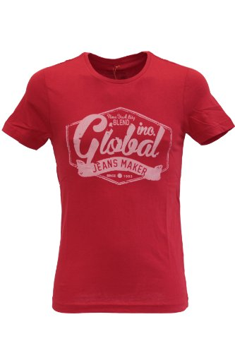 Blend of America -  T-shirt - T-shirt  - Maniche corte  - Uomo rosso X-Large