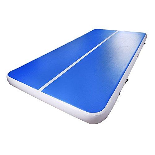 Aufblasbare Gymnastik / Yoga / Taekwondo / Wasser Schwimmende / Camping-Trainingsmatte, Größe 2 * 3M Mit Elektrischer Pumpe, Blau