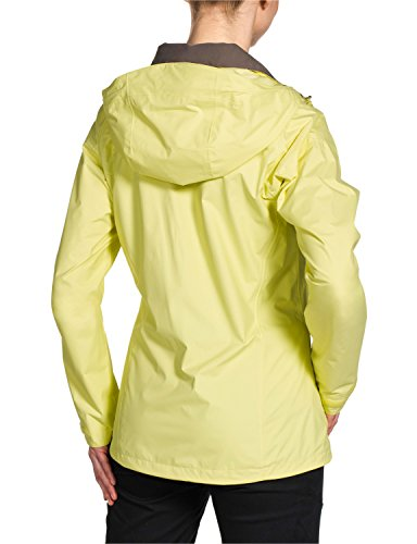 Jack wolfskin texapore supercell jKT veste imperméable pour femme Jaune/noir - jaune