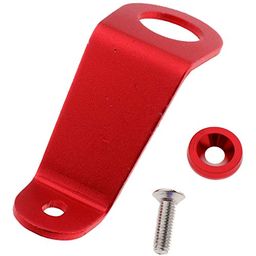Gazechimp Hochwertige Kfz Kühlerstrebenhalterung Für Honda Civic EG 92 95 Rot - rot