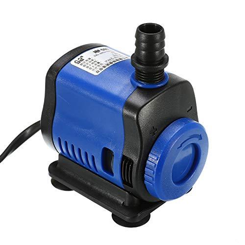 Sishuinianhua 5/14/20/35/45 / 80w 500-3500l / h filtro per pompa sommergibile ultra-silenzioso per pesci stagno fontana per acquario vasca per tartarughe piscina alta,5w