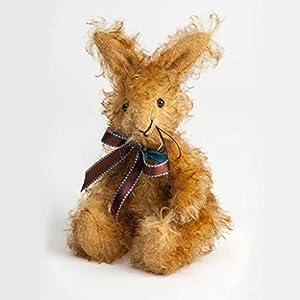 Canterbury Bears ltd 140 Ginger Mohair - Conejo, Color Dorado