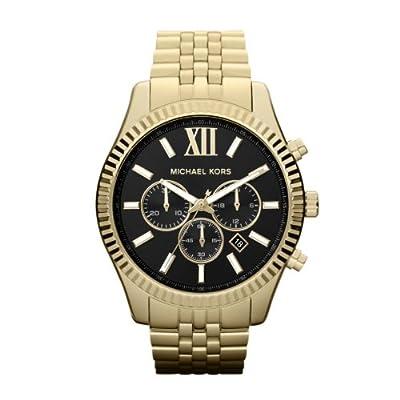 Michael Kors MK8286 - Reloj de pulsera hombre, acero inoxidable, color dorado de Michael Kors