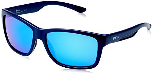 Smith Herren Sage Z0 RCT 61 Sonnenbrille, Blau (Matt Ml. Blue)