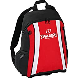 Spalding funda Backpack, color Varios colores - rojo, negro y blanco, tamaño 47 x 39 x 19 cm, 35 Liter, volumen liters 35.0