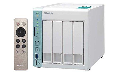 Qnap TS-451A-4G 1.6GHz DualCore 4-Bay 4TB Bundle mit 2x 2TB WD20EFRX Red