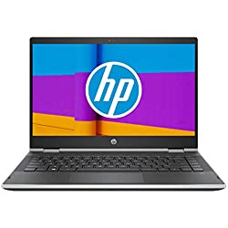 HP Pavilion x360 14-cd1006nf PC Ultraportable Convertible 14'' HD Argent (Tactile, Intel Core i3-8145U, 8 Go de RAM, SSD 256 Go, AZERTY, Windows 10) PC Nouvelle Génération