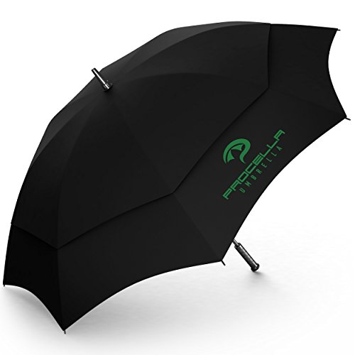 Procella Parapluie de Golf de 62 po à ouverture automatique et résistant au vent