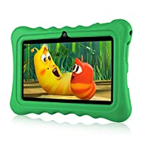 """7"""" Kids Tablet PC Ainol Q88 Android 7.1 1G RAM 8 GB ROM Tablet GMS Google Certified External 3G Portable Kid-Proof Silicone Case Dual Cameras Netflix & YouTube Supported (Green)"""