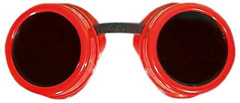Zoelibat 84042341.029 - Safety Googles Goggles, Fun wie Schutzbrille, rot/schwarz