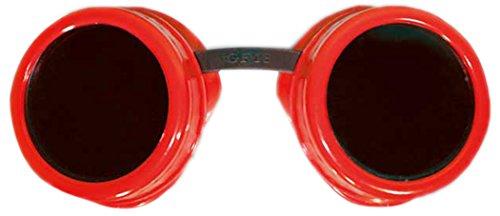 Zoelibat 84042341.029 - Safety Googles Goggles, Fun wie Schutzbrille, (Erwachsene Kostüme Bauarbeiter)