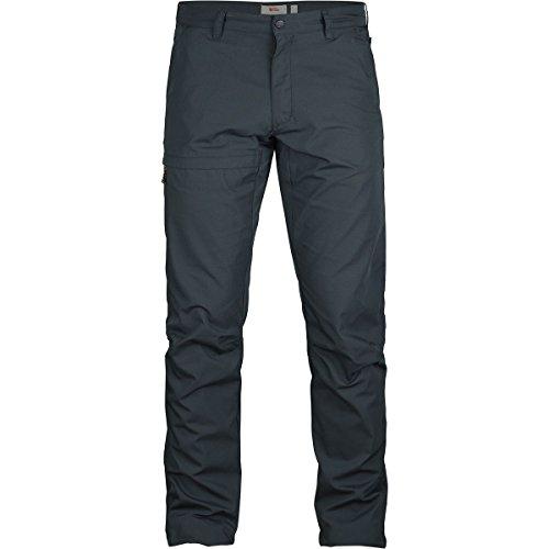 FjallRaven Pantalon de voyage Travellers Trousers Dark Navy