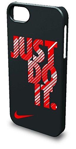 Nike Swift Just Do It Hard Phone Case (iPhone 5/5s, Black/University Red)