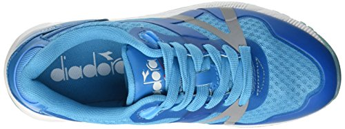 Diadora N9000 mm Bright, Scarpe Low-Top Unisex-Adulto Blu (97023 Blu Fluo)