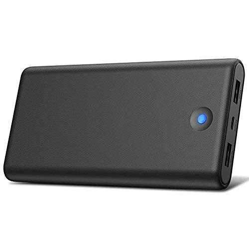 Trswyop Batería Externa para Móvil 25800mAh【Colorido Diseño de Indicador LED】 Power Bank Alta Velocidad con 2 Puertos USB Cargador Portátil Alta Capacidad para Smartphone, Tableta PC y Más