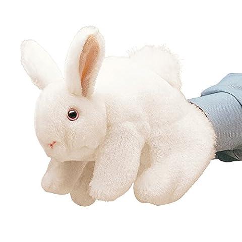 Folkmanis Puppets - 2048 - Marionnette et Théâtre - White Bunny Rabbit