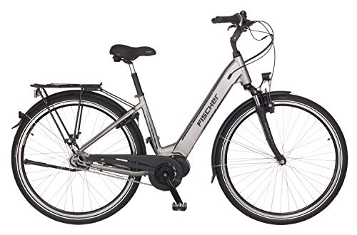 FISCHER E-Bike City CITA 4.0i (2019), quarzgrau matt, 28