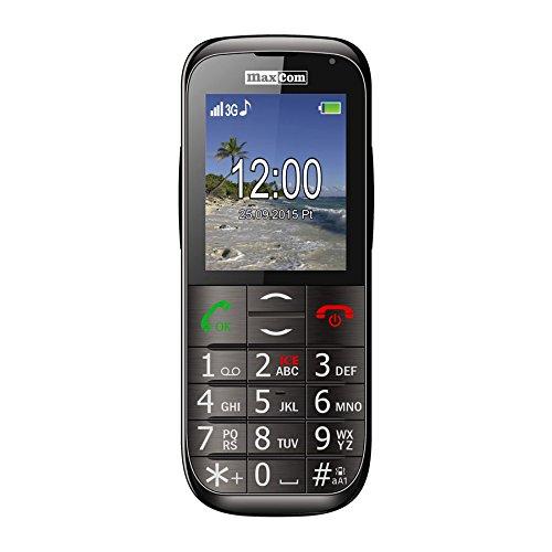 Foto de Maxcom - Mm721 - móvil con teclas grandes y botón sos para gente mayor - negro