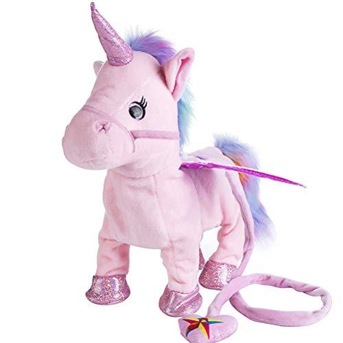 Keep Comfort 35 cm Singen und Walking Unicorn Elektronische plüsch Roboter Pferde Elektronische Plüschtiere für Kinder Geburtstagsgeschenke